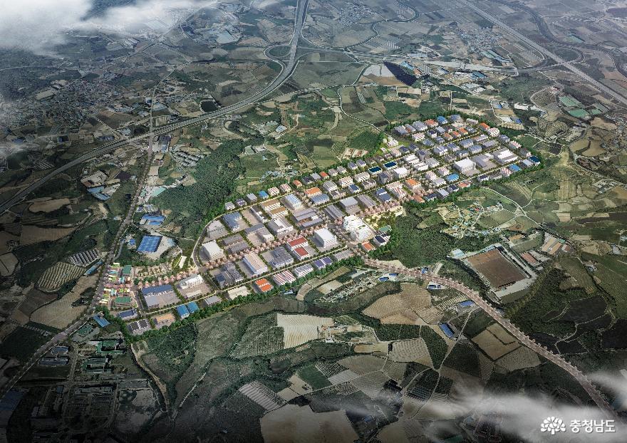 천안 테크노파크 산업단지 조성 본궤도