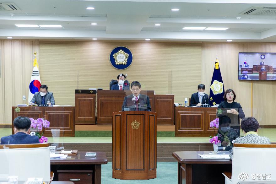 """김돈곤 청양군수 """"내년도 지역 경쟁력 강화 전력투구"""""""