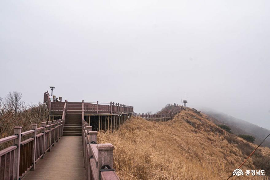 1600개 계단을 오르면 만날 수 있는 홍성의 겨울산, 오서산