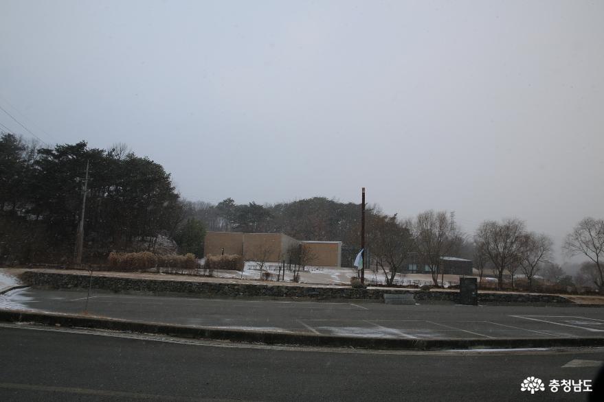 눈 오는 평온한 일상에 찾아가본 홍성 이응노 생가