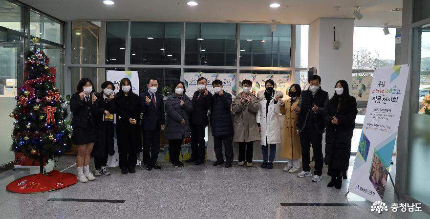 충남교육청 갤러리 이음 여섯 번째 전시 '충남디자인예술고 작품전시회' 개최