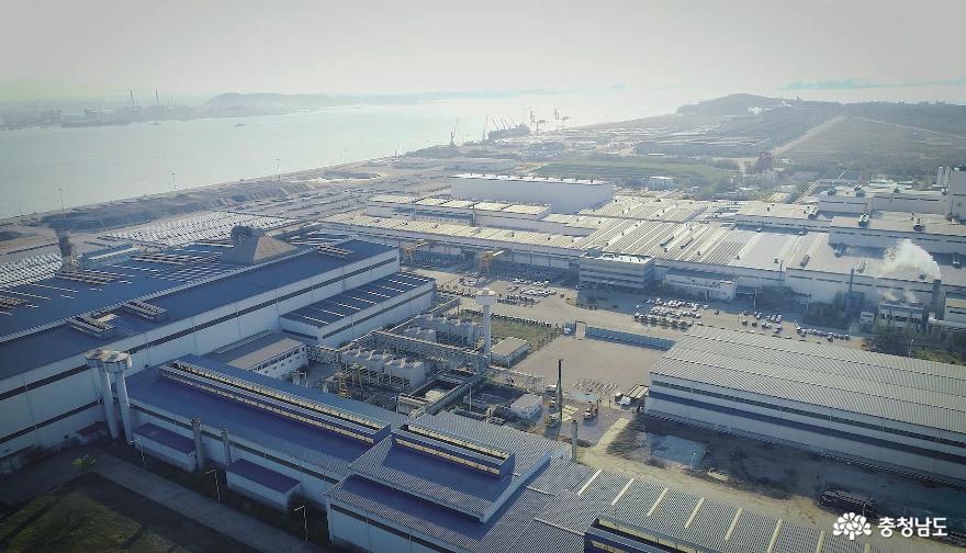 Front View of KG Dongbu Steel Dangjin Factory