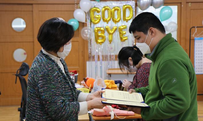 아산성심학교, 제12회 '작은 졸업식'