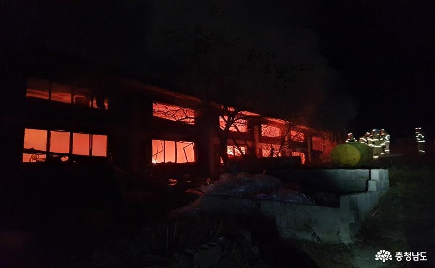 불이 난 공장서 소중한 생명 극적 구조
