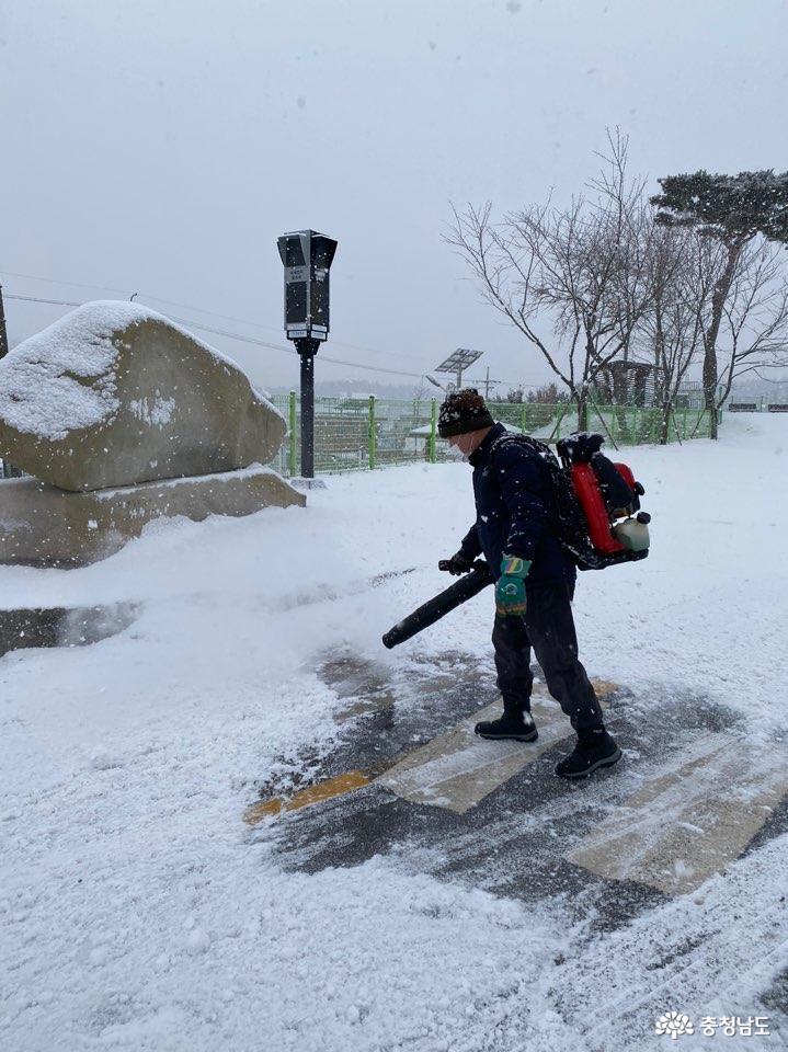 폭설에 제격… 겨울에 더 사랑받는 비료살포기