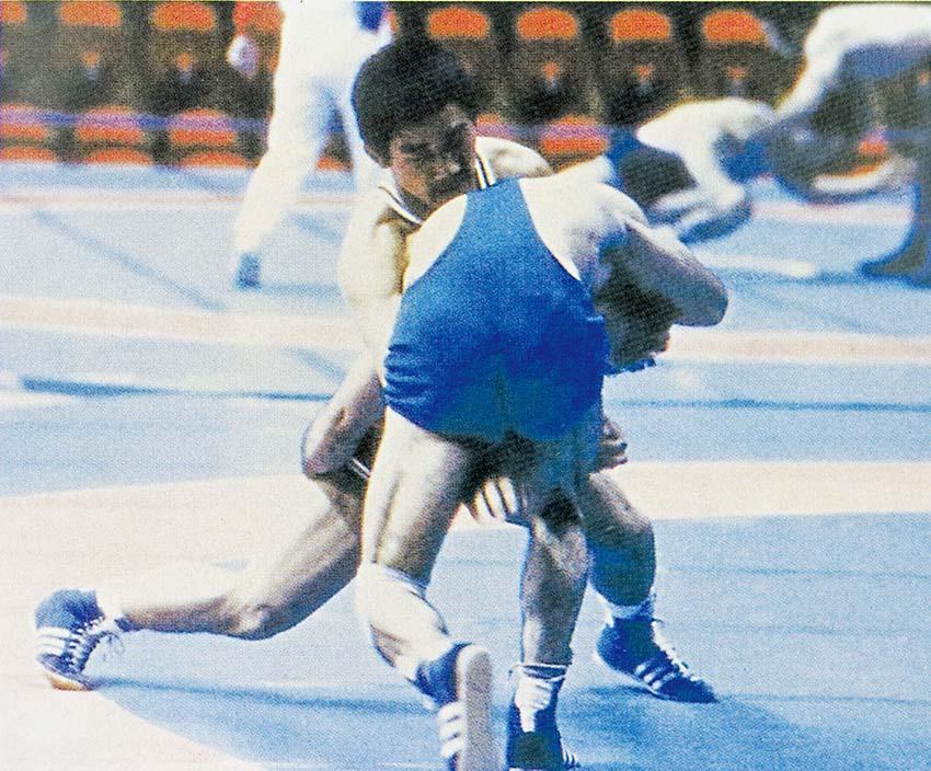 대한민국 최초의 올림픽금메달