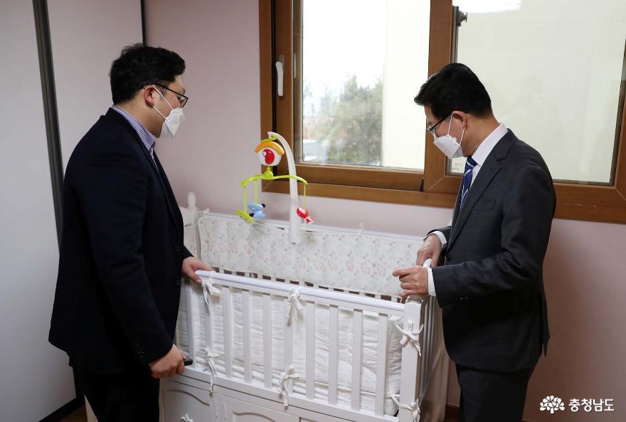 양승조 지사, 아동학대 대응체계 현장 점검