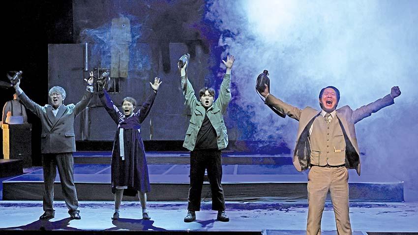 충남 풍물·비보이·판소리가 연극 본고장을 홀렸다