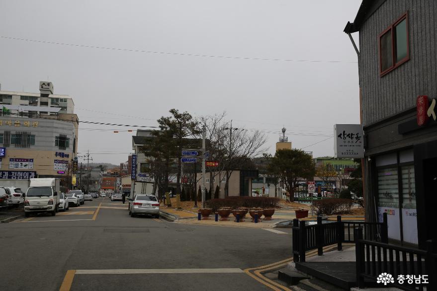 1,000년 역사 모시떡이 있는 서천특화시장