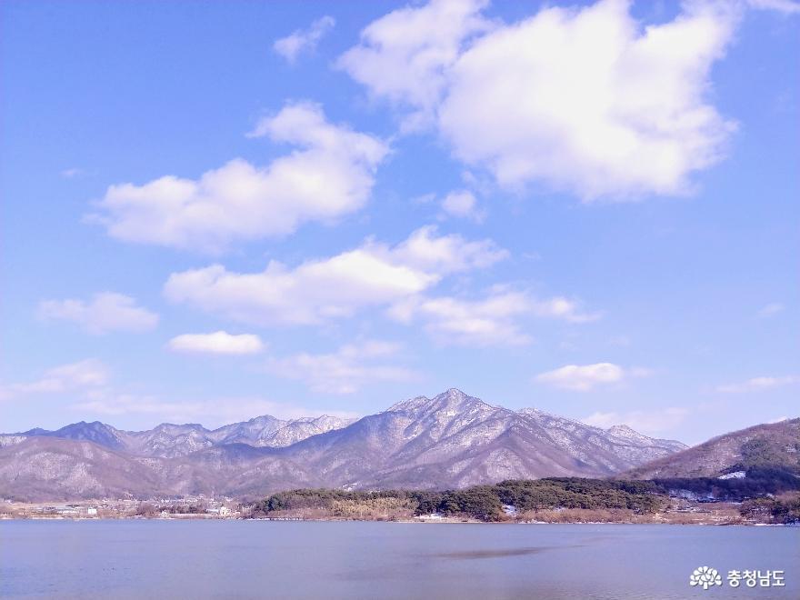 신이 펼쳐 놓은 은세계, 계룡산의 겨울
