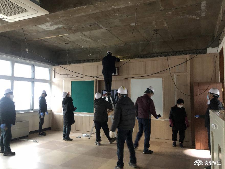 충남교육청, 3월 새학기 석면 안전 이상 없다