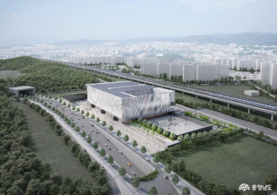 충남국제전시컨벤션센터 설계 당선작 선정