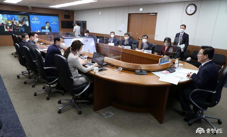 ヤン・スンジョ知事、脱石炭同盟ハイレベル会合にアジア代表として招聘され参加 (2)