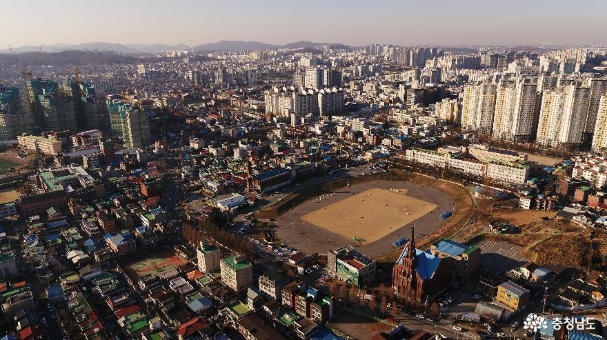 천안시 오룡경기장, 민관 협력형 도시재생리츠사업 대상지 선정
