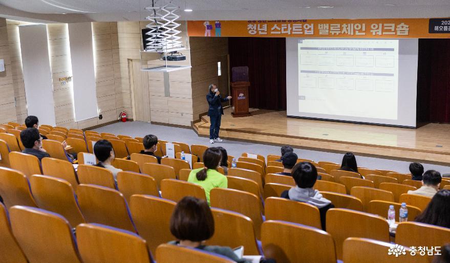 청양군, 청년 스타트업 양성사업 밸류체인 워크숍