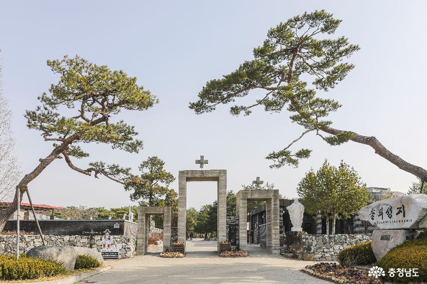 김대건 신부 생가지, 당진 '솔뫼 성지'를 가다.
