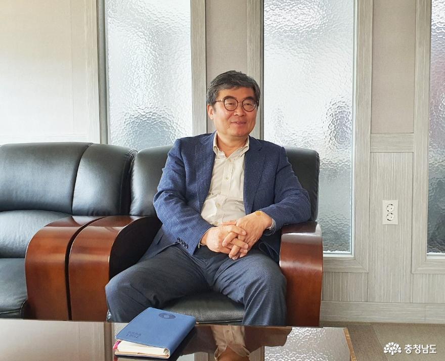 이상표 12대 계룡새마을지회장 '새마을회관 건립 주춧돌 되겠다' 약속