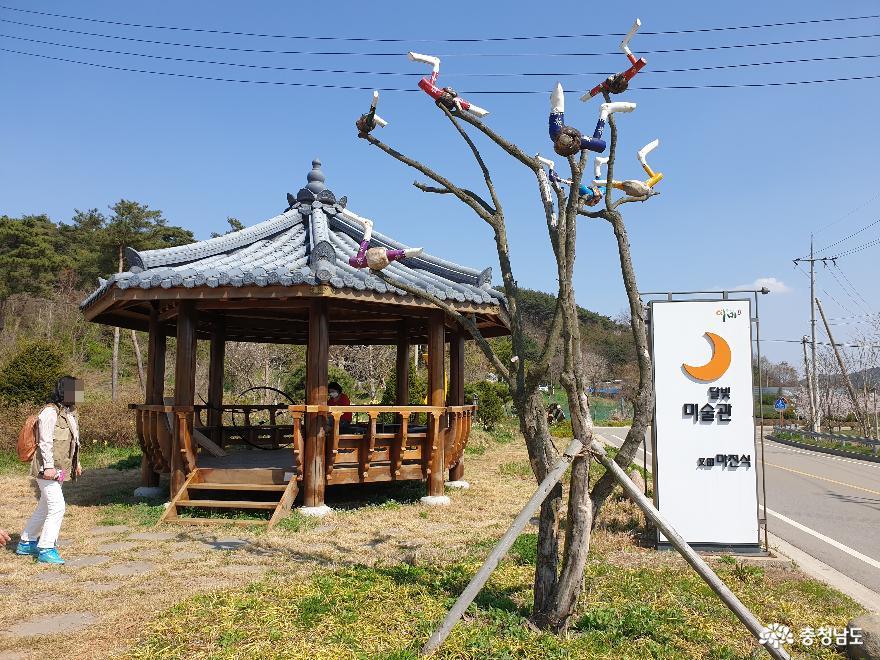 달빛예촌 서산 여미리의 새 명소, 달빛미술관