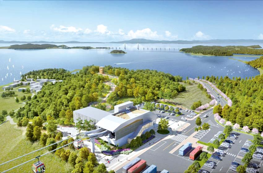 국내 최초 섬과 섬 잇는 해상 케이블카 설치한다