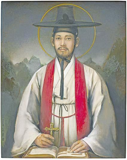 김대건 신부 탄생 200년, 솔뫼성지에 박애꽃이 피었다