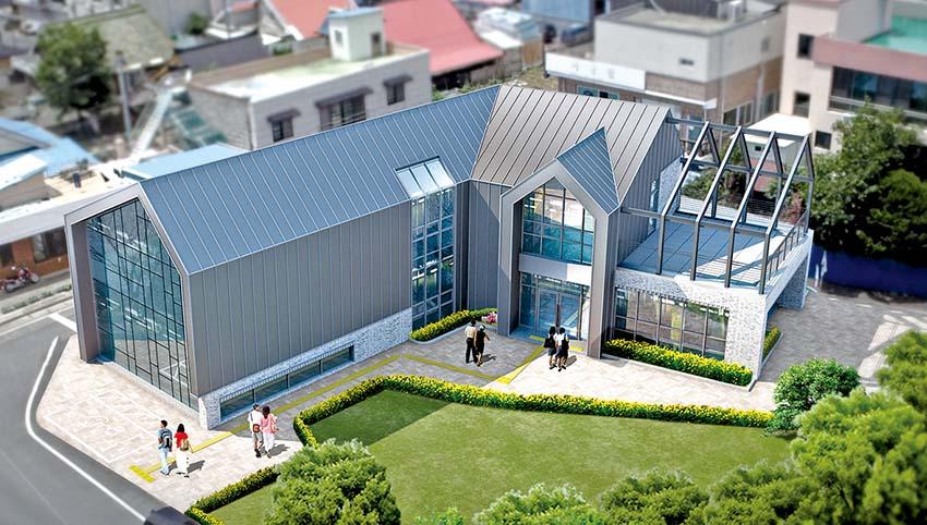 청양 혁신플랫폼 건축물名 '와유'