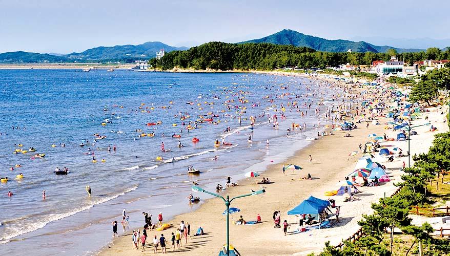춘장대해수욕장 7월 10일 개장