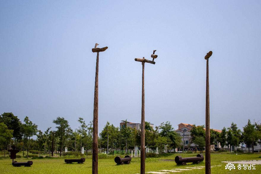 홍성과 예산 주민의 추억을 담은 내포 신도시 애향공원
