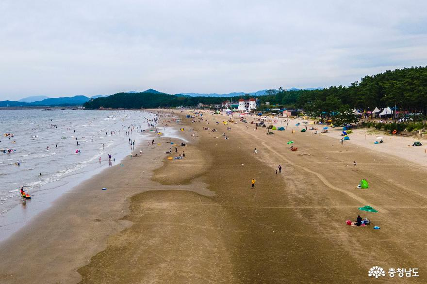 서천 춘장대해수욕장으로 여름휴가 따나요!