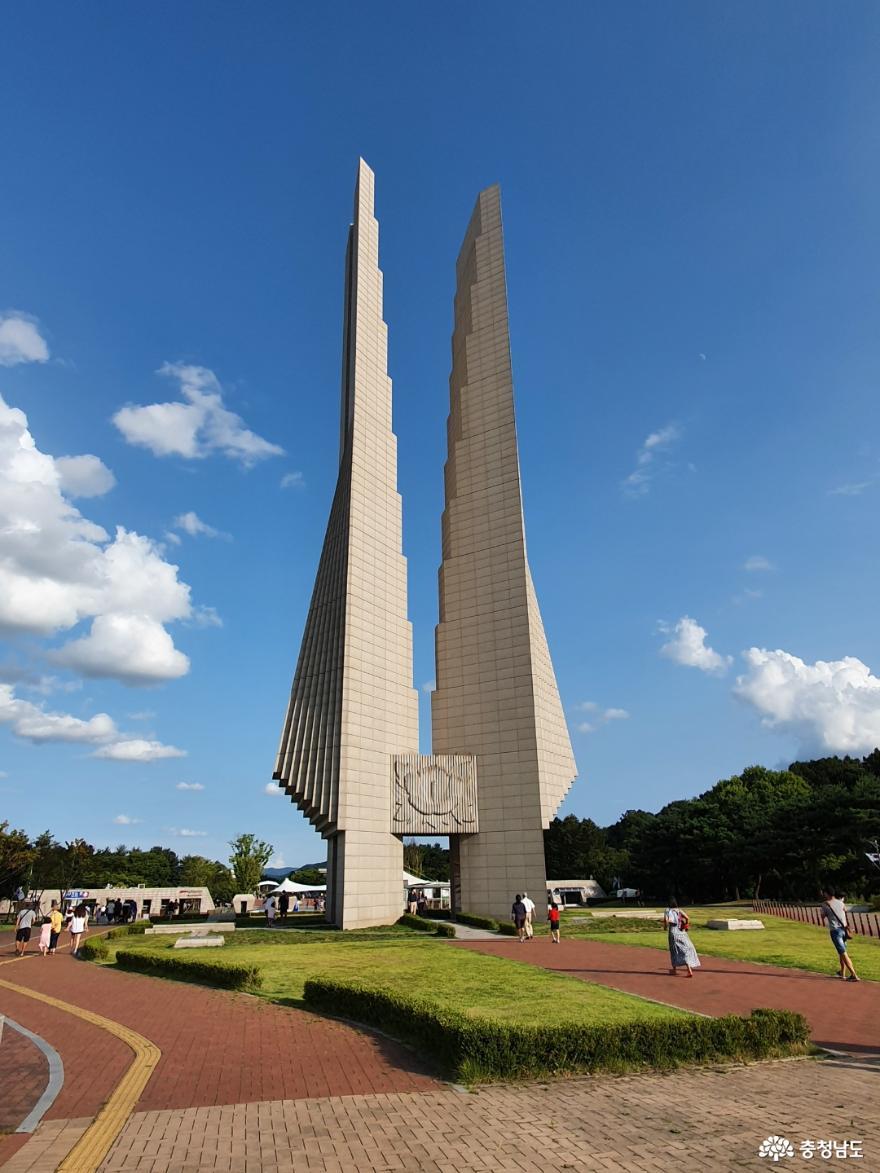 광복 76주년을 맞는 광복절에 의미있는 장소 독립기념관