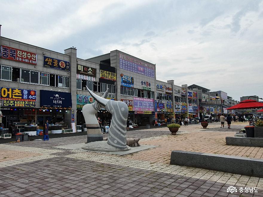 여름 끝자락, 홍성 남당항에서 바라본 풍경