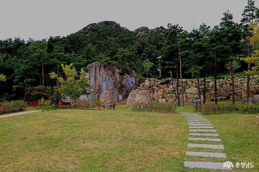 충남 홍성 용봉산 자연휴양림과 산림전시관