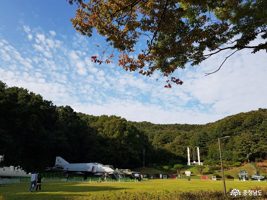 맑고 깨끗한 자연을 품은 태조산 공원