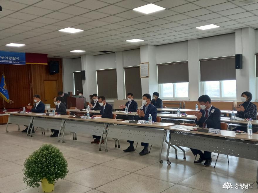 충남자치경찰위원회, 치안현장방문 간담회 개최