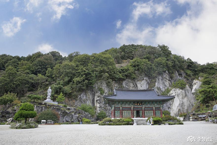 동굴 법당이 있는 '논산 반야사'