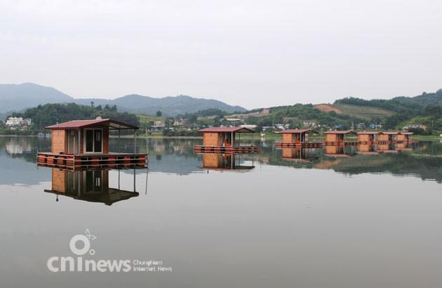 [예산-예당저수지] 잔잔한 호수에서 '넉넉한 여유'